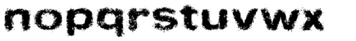 Sinder Font LOWERCASE