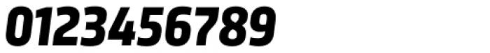 Sinews Sans Pro Bold Italic Font OTHER CHARS