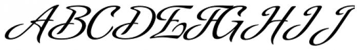 Sinfonieta Font UPPERCASE