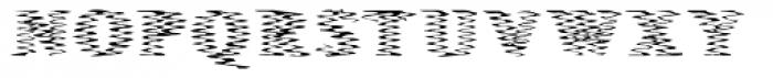 Singer Serif Hard Font UPPERCASE