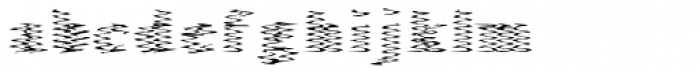 Singer Serif Hard Font LOWERCASE