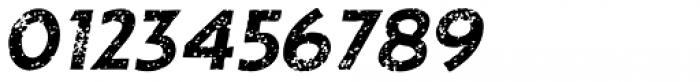 Single Bound Vintage Bold Italic Font OTHER CHARS