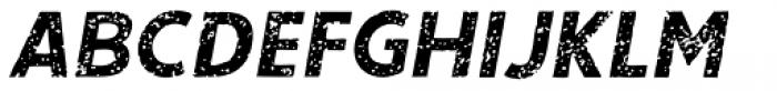 Single Bound Vintage Bold Italic Font UPPERCASE
