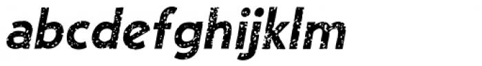 Single Bound Vintage Bold Italic Font LOWERCASE