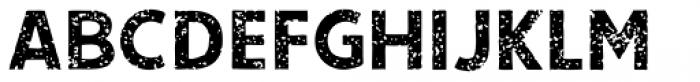 Single Bound Vintage Bold Font UPPERCASE