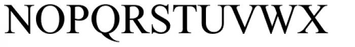 Single MF Medium Font UPPERCASE