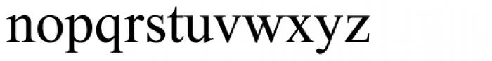 Single MF Medium Font LOWERCASE