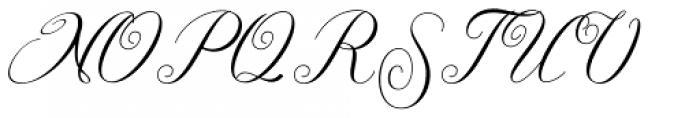 Singles Regular Font UPPERCASE