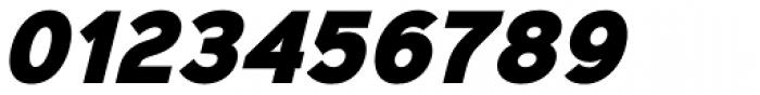 Sinkin Sans Narrow 900 X Black Italic Font OTHER CHARS