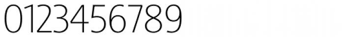 Sinova Std Thin Font OTHER CHARS