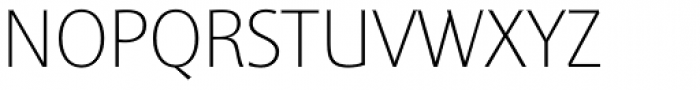 Sinova Std Thin Font UPPERCASE