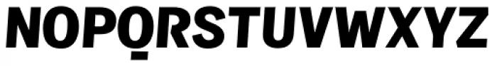 Sintesi Sans Black Italic Font UPPERCASE