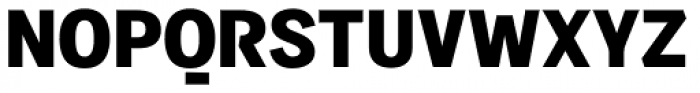 Sintesi Sans Black Font UPPERCASE