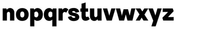 Sintesi Sans Black Font LOWERCASE