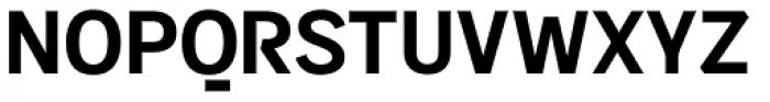 Sintesi Sans Bold Font UPPERCASE