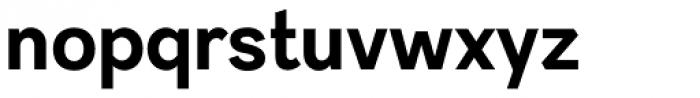 Sintesi Sans Bold Font LOWERCASE