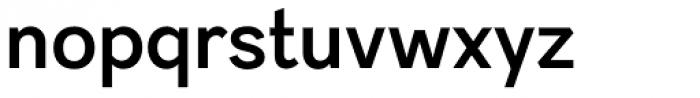 Sintesi Sans DemiBold Font LOWERCASE