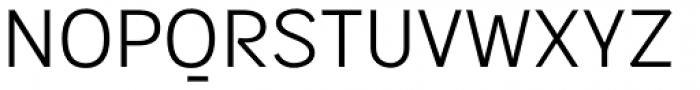 Sintesi Sans Light Font UPPERCASE