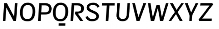 Sintesi Sans Medium Italic Font UPPERCASE
