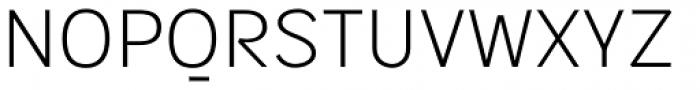 Sintesi Sans Thin Font UPPERCASE