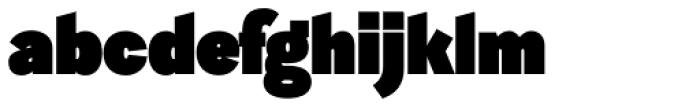 Sintesi Sans UltraBlack Font LOWERCASE