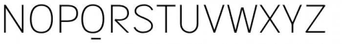 Sintesi Sans UltraLight Font UPPERCASE