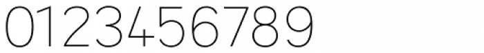 Sintesi Sans UltraThin Font OTHER CHARS