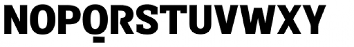 Sintesi Semi Black Font UPPERCASE