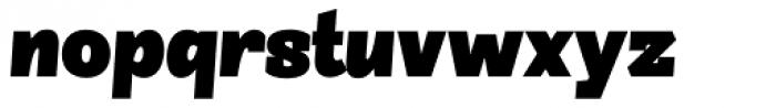 Sintesi Semi ExtraBlack Italic Font LOWERCASE