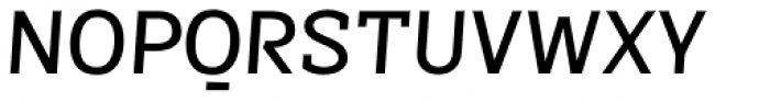 Sintesi Semi Medium Italic Font UPPERCASE