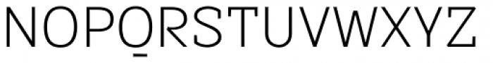Sintesi Semi Thin Font UPPERCASE