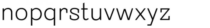Sintesi Semi Thin Font LOWERCASE