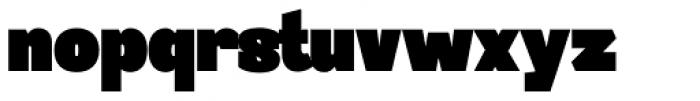 Sintesi Semi UltraBlack Font LOWERCASE