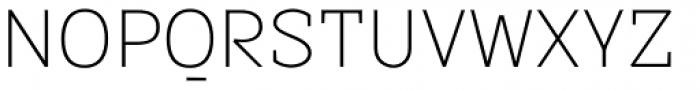 Sintesi Semi UltraLight Font UPPERCASE