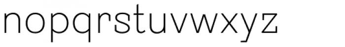 Sintesi Semi UltraLight Font LOWERCASE