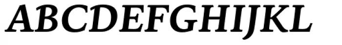 Sirba Bold Italic Font UPPERCASE
