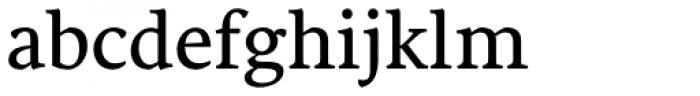 Sirba Font LOWERCASE