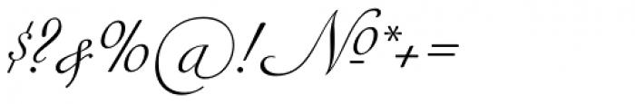Siren Script II Font OTHER CHARS