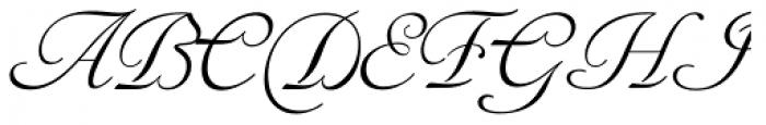 Siren Script II Font UPPERCASE