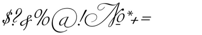 Siren Script III Font OTHER CHARS