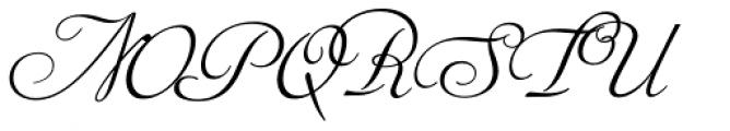 Siren Script III Font UPPERCASE