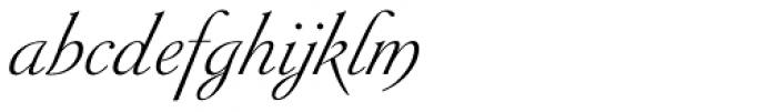 Siren Script II Font LOWERCASE
