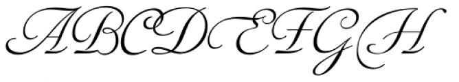 Siren Script IV Font UPPERCASE