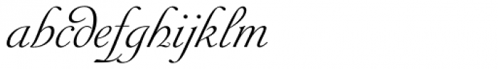 Siren Script IV Font LOWERCASE