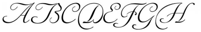 Siren Script Pro Font UPPERCASE