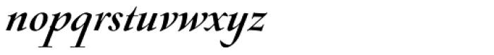 Sirenne Seventy Two MVB Italic Font LOWERCASE