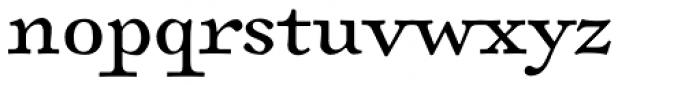 Sirenne Six MVB OSF Roman Font LOWERCASE