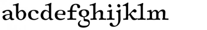 Sirenne Six MVB TF Roman Font LOWERCASE