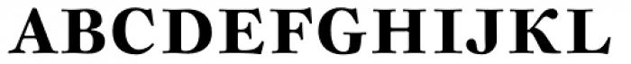Sirenne Text MVB OSF Bold Font UPPERCASE