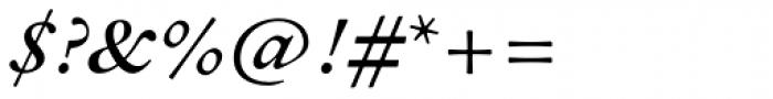 Sirenne Text MVB Swash Italic Font OTHER CHARS